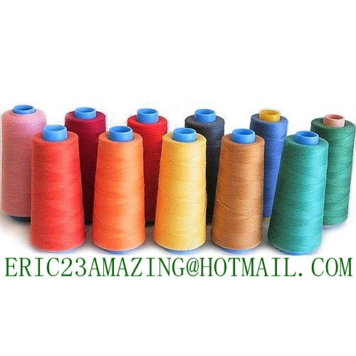 MADE IN CHINA FACTORY ALL COLOR 100% spun polyester sewing thread 40S/2 50/2 60/2 70/2 20/3 5000 YARDS 4000 3000Y