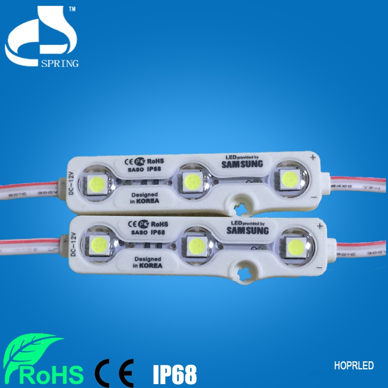 Examples manufactured goods 5050 led module for light box