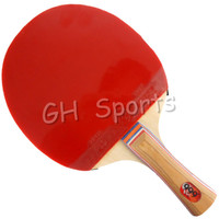 999 A (1-star, 1 star) Pips-In / Long Pips-Out Table Tennis Racket (Shakehand) for Ping Pong