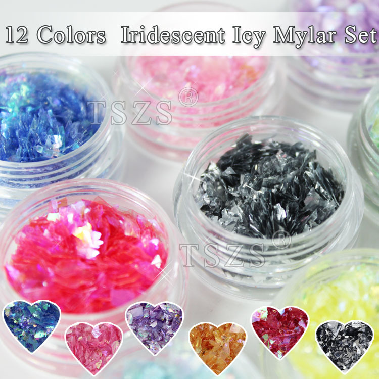 Colorful Selection Nail Dazzling Flakes High Quality Nail Art Sequin Spangle