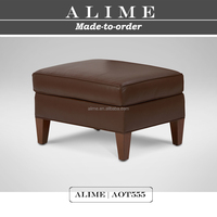 Alime AOT555 modern leather cheap ottomans for sale