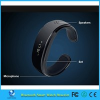 HX-002 LCD Bluetooth smart Watch for Andriod OS Mobile Phone Smart Bracelet Watch with Caller's ID Display OLED clock