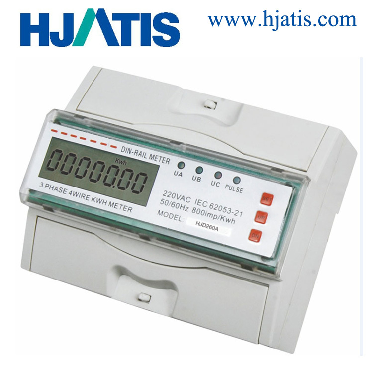 DIN rail 3-Phase Energy Meters For Monitoring Distribution Panels
