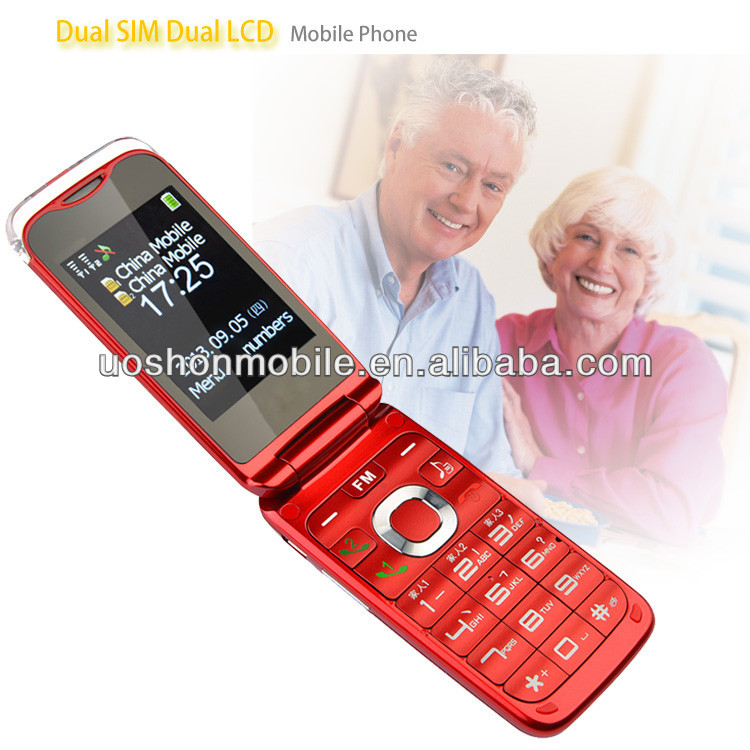 Big Button Cellphone with 1.8'' Screen Loud Speaker Torch Light