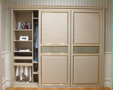 custom made mdf carcass interior wardrobe sliding door home furniture