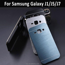 Ultra Thin MOTOMO Brushed Aluminum PC Hard metal case for Samsung Galaxy J1 Ace J2 J5 J7 Back cover