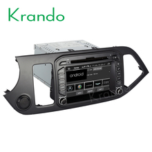 "Krando Android 7.1 8"" car pc touch screen dvd player for kia picanto morning 2011+ car gps navigation system 2G+16G KD-KM871"