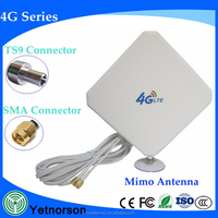 Powerful 4g lte antenna 600-2700mhz 2x2 mimo indoor antenna for 4G