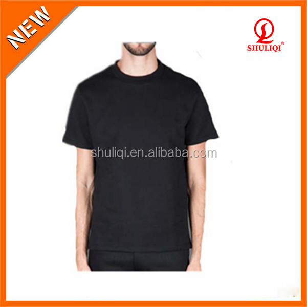 men's authentic t-shirts american popular blank design supplier