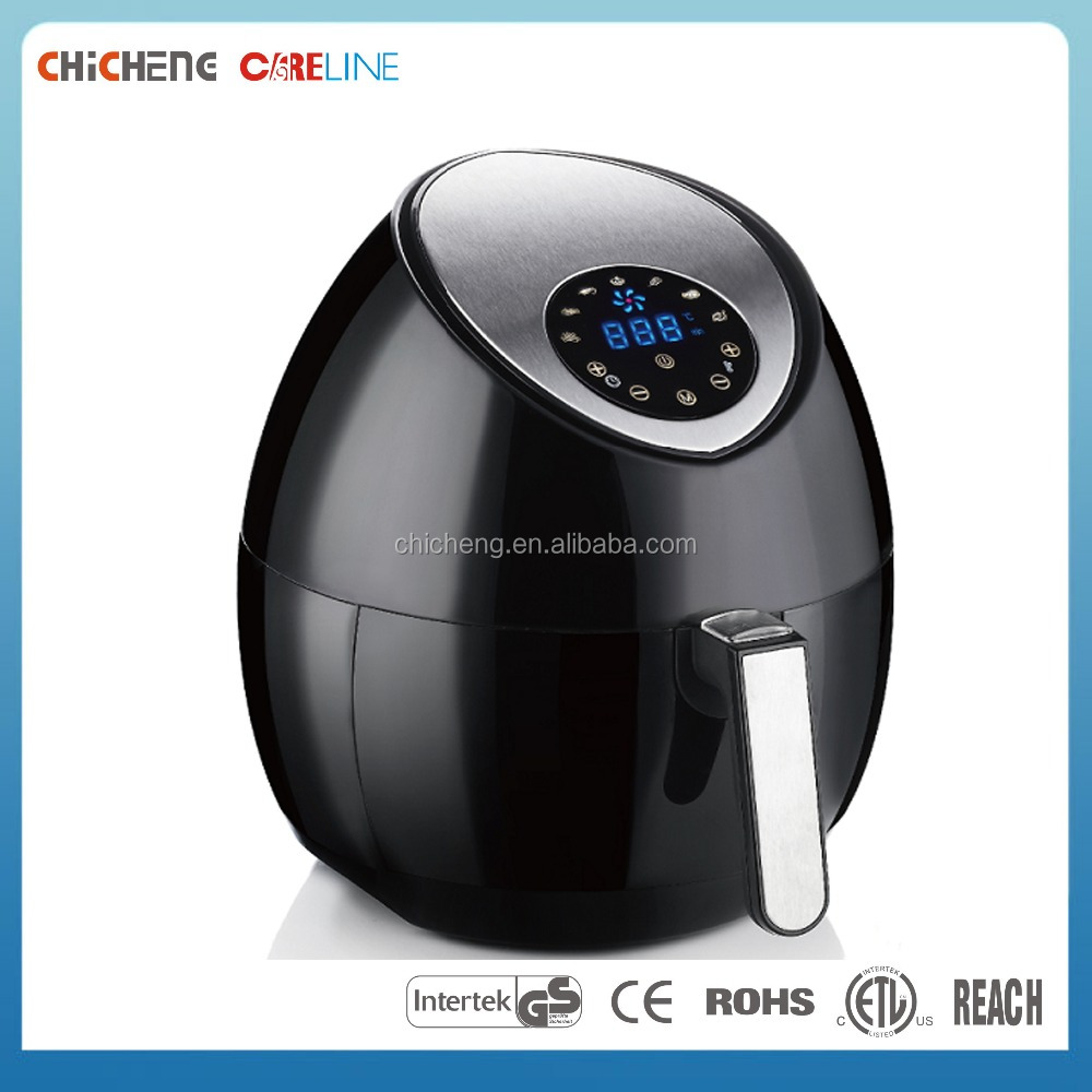 Eco-friendly housing No Oil Fry Pans Pizza maker Air Fryer