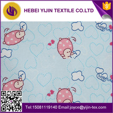 China wholesale 100% cotton snuggle printed flannel wholesale with Alibaba Trade Assurance