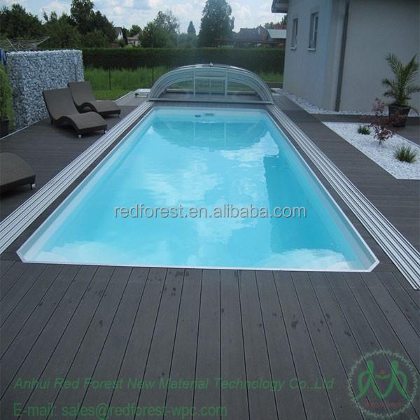 Swimming Pool Tiles Wooden Plastic Composite Wpc Outdoor Decking Buy Swimming Pool Tiles Wpc