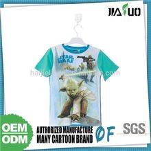 Nice Quality Customization Affordable Price Kids 100% Organic Cotton T-Shirts