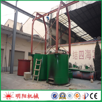 China factory supply direct ISO CE wood waste charcoal production plant 008615039052281