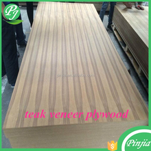 4*8 wood veneer teak plywood prices from Linyi manufacturer 4mm
