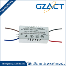 Constant current waterproof 18v 24v 50w LED driver for light