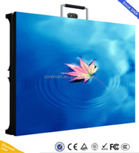 aluminium outdoor full color led display led cabinet P10 P8 P6 / indoor stage wall video panel
