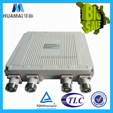 China Supplier PIM3-153 dBc IP67 Outdoor 4 In 1 Out rf triplexer combiner, 3db hybrid coupler combiner
