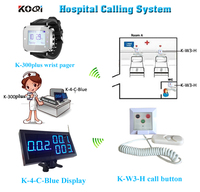 KOQI Nurse Calling System Emergency Patient Panic Call Button for elderly hospital alert lighting system