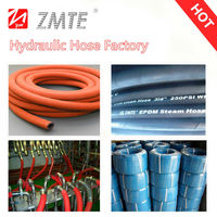 Oxygen/air delivery steam rubber hose