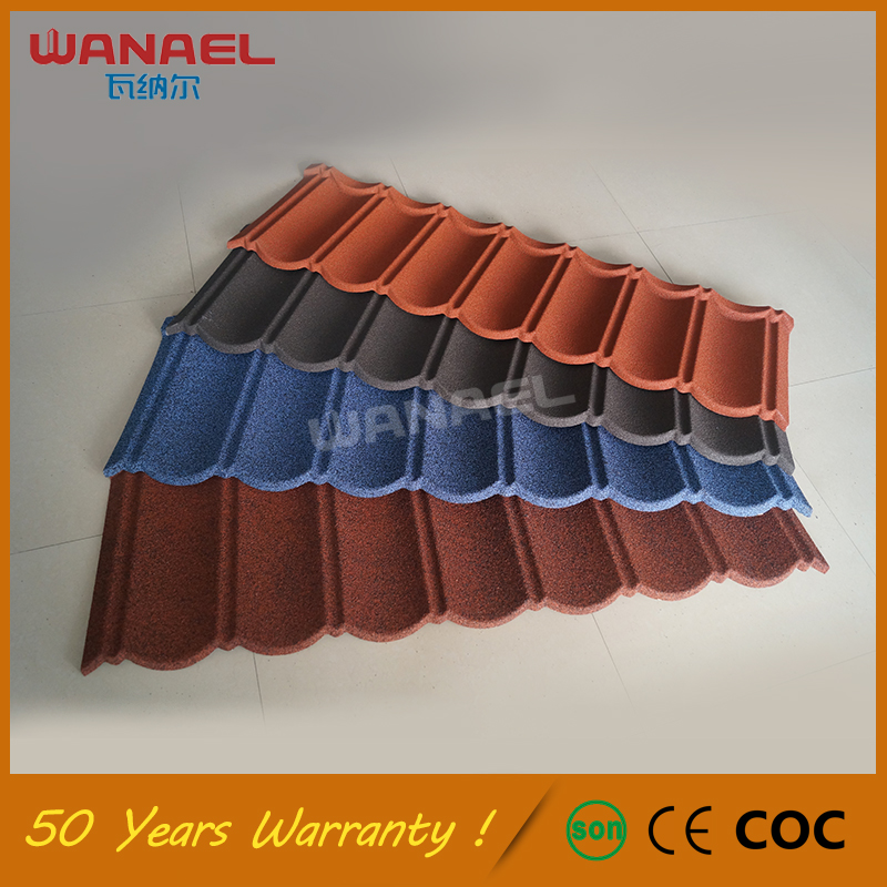 Lightweight Roofing Materials 50-Year Warranty Wanael Classical Spanish Roof Tiles Prices, Insulation Green Roof Tiles