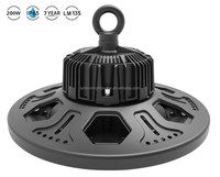 ufo led high bay light Cold Forging IP65 200W high brightness CIR>80 130lm/W 3030 LED Meanwell Driver