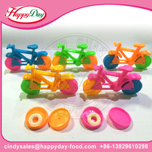 HAPPYDAY HOT SELL COLORFUL BICYCLE TOY CANDY