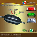 3.5m Wired Switch with Red and Green control outdoor two sdies 12V LED RG TAXI top led sign light