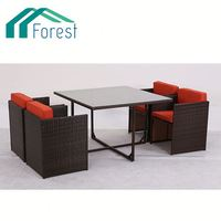 HOT Selling Eco-friendly waterproof leather outdoor furniture
