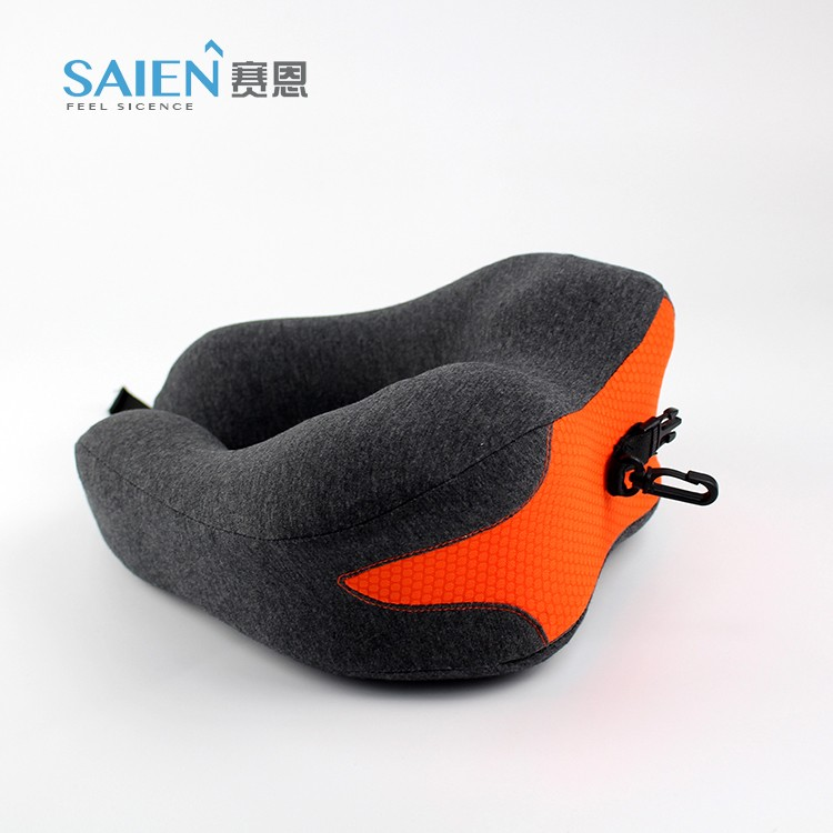 New Patent design memory foam folding soft neck support travel pillow