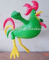 pvc inflatable rooster gifts inflatable advertising toys