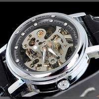 Trendy gift watches winner mens automatic watch