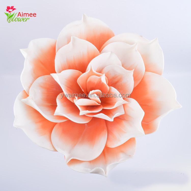 Yiwu Aimee Europ style giant artificial plastic flower poy decorations(AM-E04)