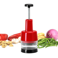 S/S+ABS+PS+PP 26*9.2*9.2 Plastic kitchen accessories new best carrot chopper/small tomato paste machine/ginger onion chopper