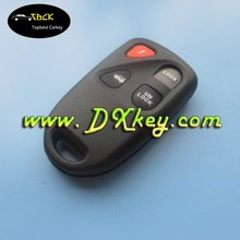 3+1 buttons car remote cover key smart holder for Mazda key blank