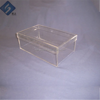 Wholesale Useful Acrylic Shoe Support Stand Shoe Display Shelves for Retail Stores