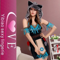 new design charming dress Adult Sex fur Cat Costumes animal sexy costume
