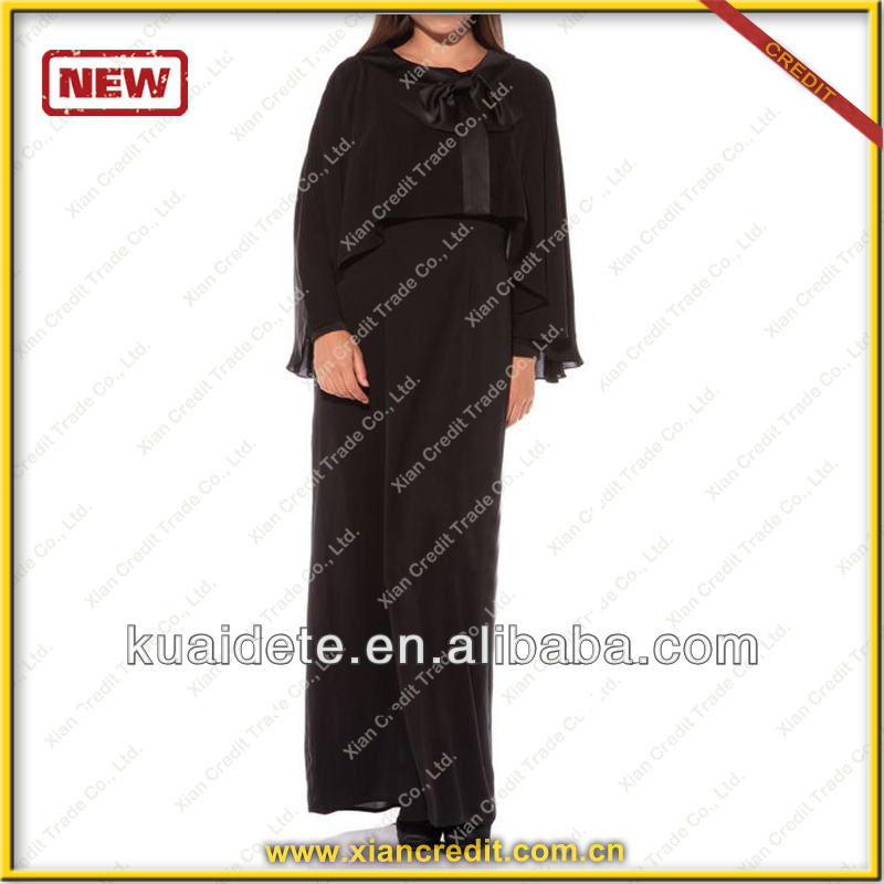 Modesty Design Modern Kaftan Abaya black abaya KDT522 Islamic Clothing dubai abaya moroccan caftan with nice price