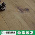 189mm width rustic oak with big dead knots wood flooring made in China