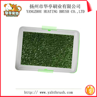 Ekia Dog Grooming Product Indoor Pet Dog Cat Toilet With Grass Mat/Dog toilet