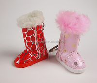 Chirdren Ugg boots 3D shoe key rings wholesales or custom
