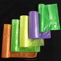 LDPE Star-sealed cheap garbage bags with many colors