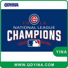 3x5ft 2016 ubs national league champions Chicago CUBS by polyester