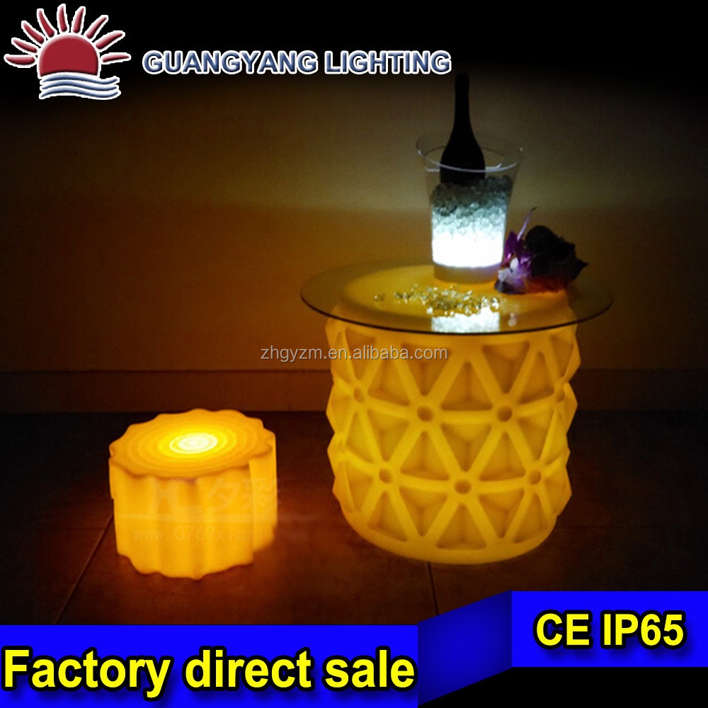 LED Luminous Bar Furniture lighting tea table