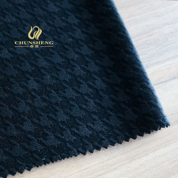 Velboa burnout for suit, sofa