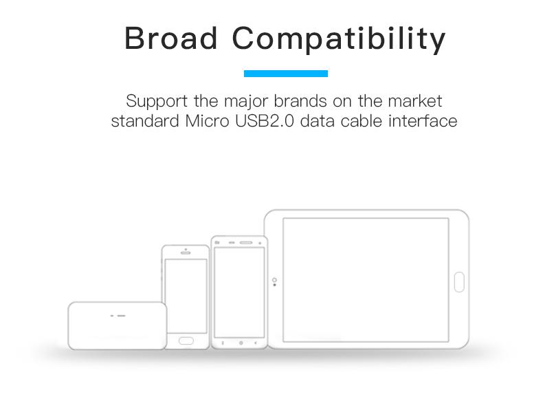 Venção 2.0 Micro USB Cabo de Carregamento Rápido Fio para Android Telefone Móvel Cabo do Carregador de Sincronização de Dados 1 M 2 M 3 M