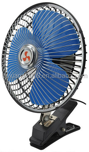 4 Inch 12 Volt Fan : V dc protection grill fan with clip inch blade volt