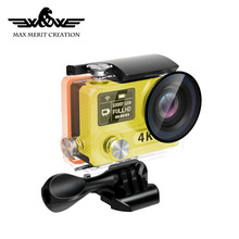 Fast delivery mini fashion slow motion Real 4K sport action camera