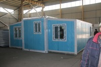 sale practical use container 20 feet prefab expandable container house