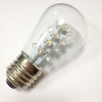 LED S14 bistro bulb lamp for E26 1W AC120V